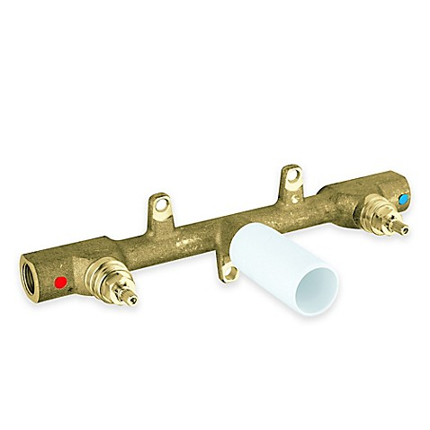 Grohe 3 Hole Wall Mount Rough In Faucet Valve www