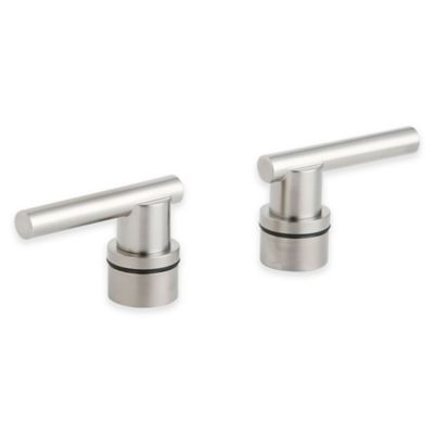 Grohe Atrio Lever Handles in Brushed Nickel (Set of 2)