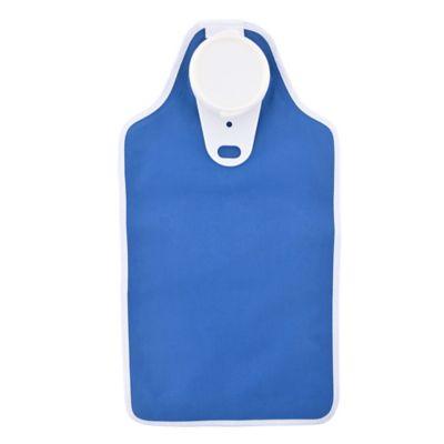BIOSliving Fabric Hot Water Bottle in Blue