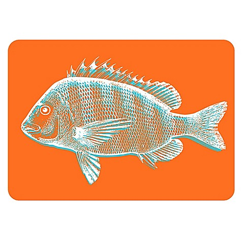 The softer side by weather guard fish kitchen mat in for Closest fish store