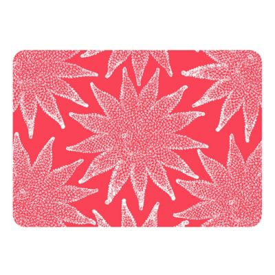 White Coral Kitchen Mat