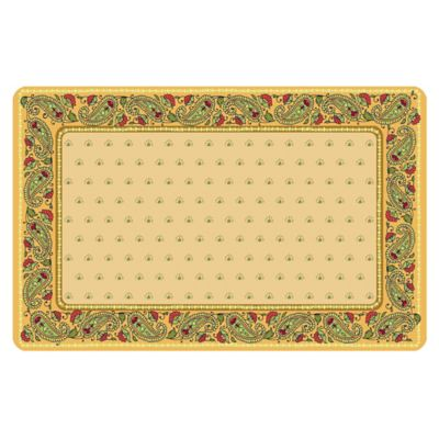 The Softer Side by Weather Guard™ 18-Inch x 27-Inch Classic Paisley Kitchen Mat