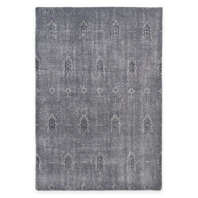 Kaleen Restoration Curio 2-Foot x 3-Foot Accent Rug in Grey