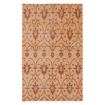 Kaleen Restoration Curio 4-Foot x 6-Foot Area Rug in Paprika