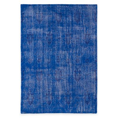 Kaleen Restoration Curio 5-Foot x 8-Foot Area Rug in Blue