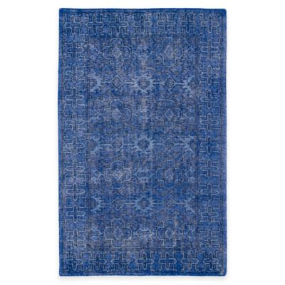 Kaleen Restoration Paulina 2-Foot x 3-Foot Accent Rug in Blue