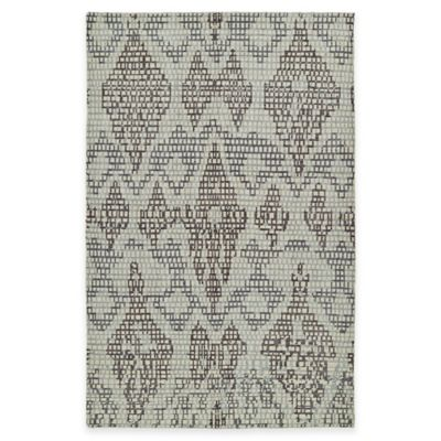 Kaleen Relic Tribal 2-Foot x 3-Foot Accent Rug in Charcoal