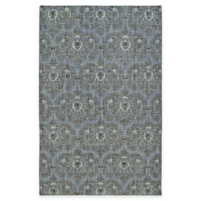 Kaleen Relic Portia 5-Foot 6-Inch x 8-Foot Area Rug in Blue
