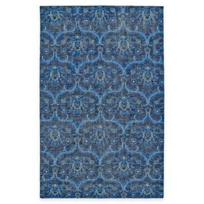 Kaleen Relic Portia 8-Foot x 10-Foot Area Rug in Blue