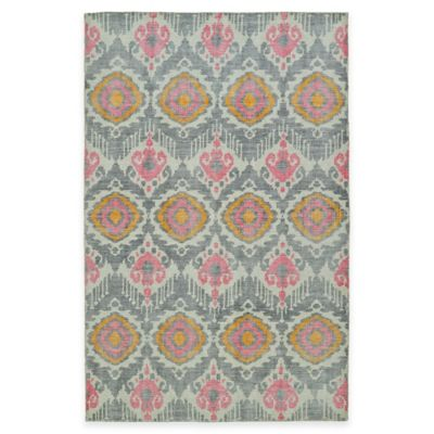 Kaleen Relic Ikat 4-Foot x 6-Foot Area Rug in Grey