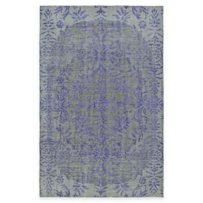 Kaleen Relic Iris 2-Foot x 3-Foot Accent Rug in Purple