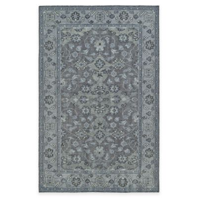Kaleen Relic 2-Foot x 3-Foot Accent Rug in Grey