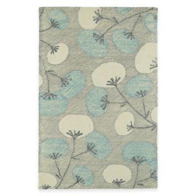 Kaleen Montage Blooms 8-Foot x 10-Foot Area Rug in Grey