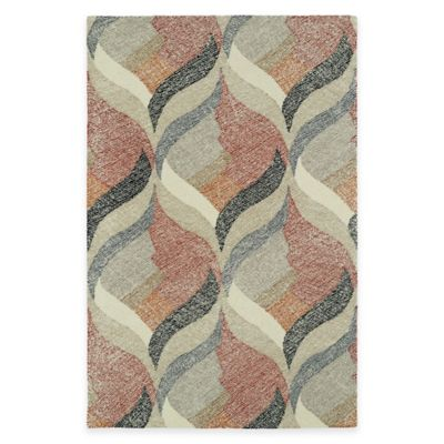 Kaleen Montage Hourglass 2-Foot x 3-Foot Accent Rug in Ivory