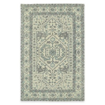 Kaleen Montage Center Medallion 3-Foot 6-Inch x 5-Foot 6-Inch Area Rug in Ivory