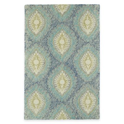 Kaleen Montage Medallions 8-Foot x 10-Foot Area Rug in Blue
