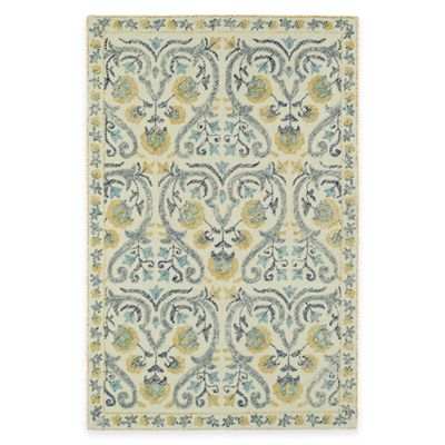 Kaleen Montage Helen 3-Foot 6-Inch x 5-Foot 6-Inch Area Rug in Ivory