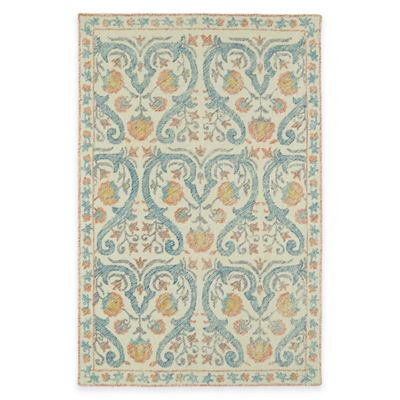 Kaleen Montage Helen 2-Foot x 3-Foot Accent Rug in Ivory