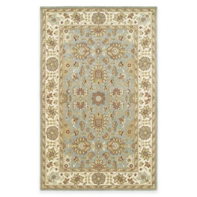 Kaleen Heirloom Sybil 4-Foot x 6-Foot Area Rug in Spa