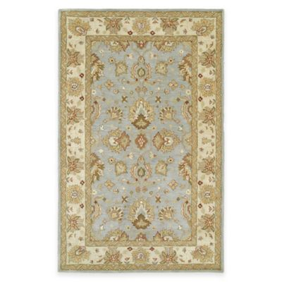 Kaleen Heirloom Heather 5-Foot x 7-Foot 9-Inch Area Rug in Spa