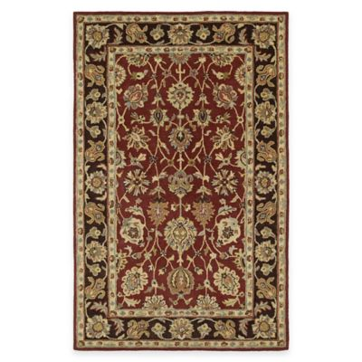Kaleen Heirloom Deborah 5-Foot x 7-Foot 9-Inch Area Rug in Burgundy