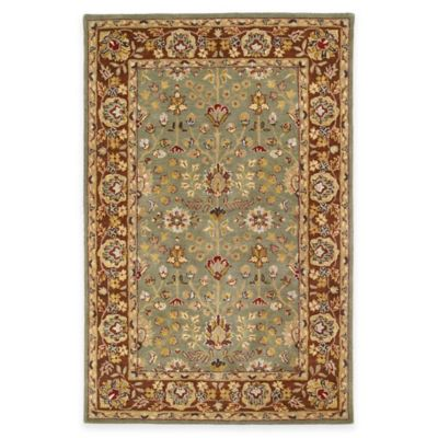 Kaleen Heirloom Katherine 5-Foot x 7-Foot 9-Inch Area Rug in Camel