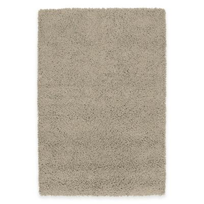 Kaleen Desert Song 5-Foot x 7-Foot Shag Area Rug in Taupe