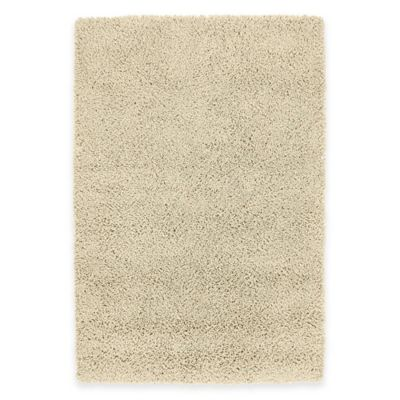 Kaleen Desert Song 5-Foot x 7-Foot Shag Area Rug in Flax