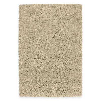 Kaleen Desert Song 8-Foot x 10-Foot Shag Area Rug in Ecru