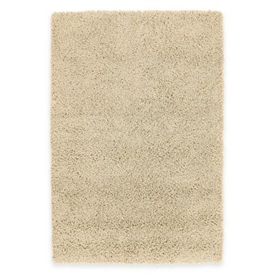 Kaleen Desert Song 5-Foot x 7-Foot Shag Area Rug in Ecru