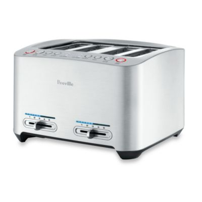 Breville® Die-Cast 4-Slice Smart Toaster™