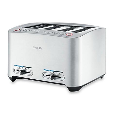 Breville 174 Die Cast 4 Slice Smart Toaster Bed Bath Amp Beyond