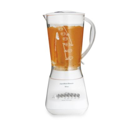 Hamilton Beach® White 10-Speed Blender