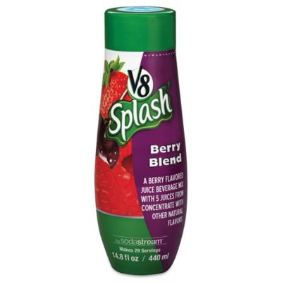Sodastream® Fountain Style V8 Splash Berry Blend Flavored Sparkling Drink Mix