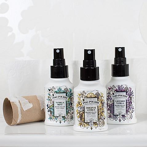 Poo pourri before you go toilet spray bed bath beyond - Poo pourri before you go bathroom spray ...