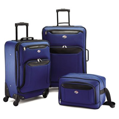 American Tourister® Brookfield 3-Piece Luggage Set in Navy