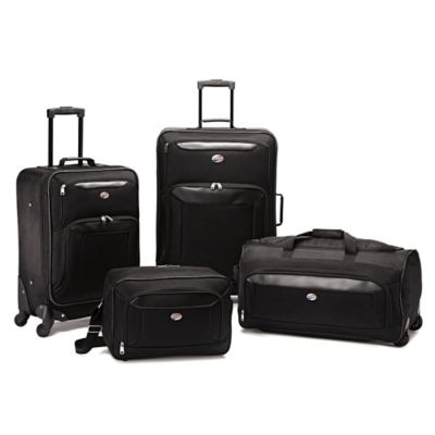 American Tourister® Brookfield 4-Piece Luggage Set in Black