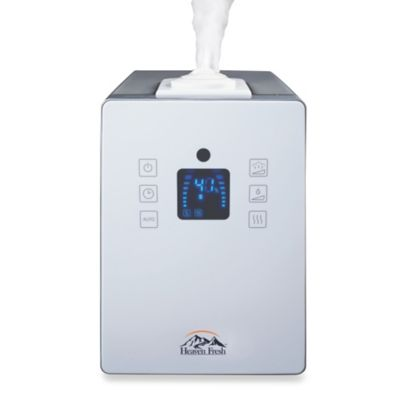 Heaven Fresh Ultrasonic Humidifier in White