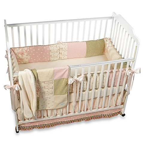 Glenna Jean Isabella 4 Piece Crib Bedding Set Bed Bath