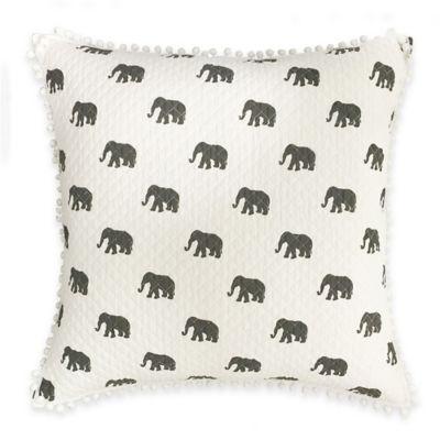 Ernest European Pillow Sham in Grey