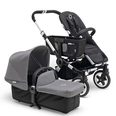 Bugaboo Donkey 2015 Base Stroller in Aluminum/Black