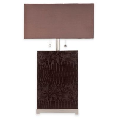 Safavieh Cheryl Table Lamp in Brown