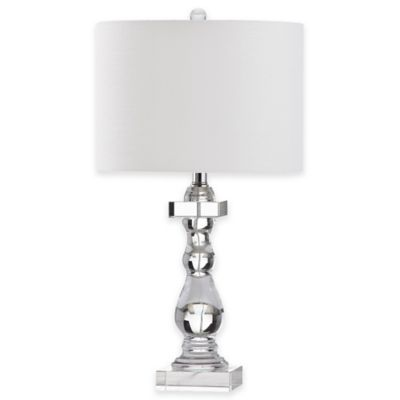 Safavieh Delta Table Lamp with Cotton Shade
