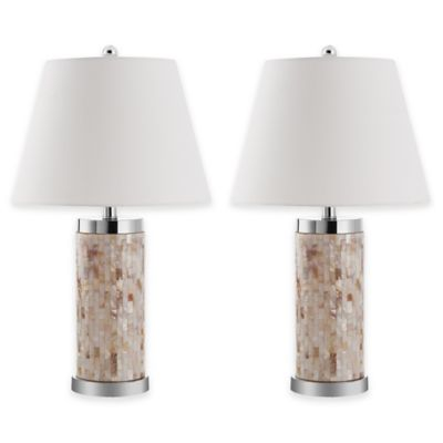 Safavieh Diana Table Lamps in Shell (Set of 2)