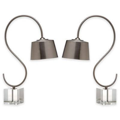 Safavieh Reed Table Lamps with Nickel Shade (Set of 2)