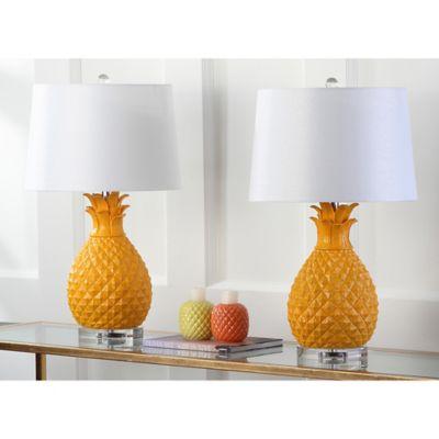 Safavieh Kelly Table Lamp in Yellow