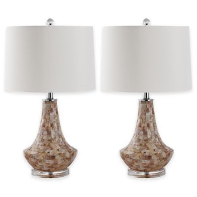 White Pink Table Lamp