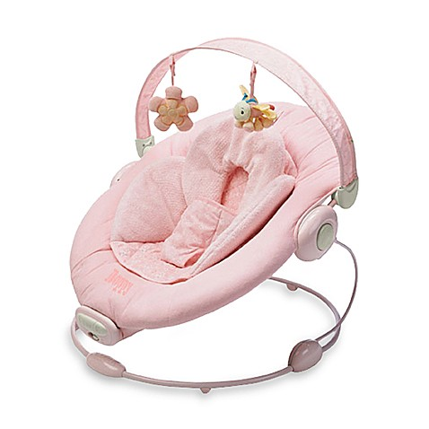 Boppy cradle in comfort pink bouncer buybuy baby for Chaise vibrante