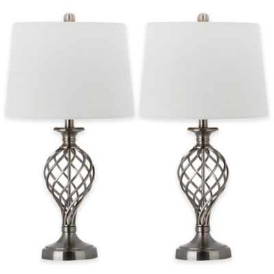 Safavieh Lattice Urn Table Lamp (Set of 2)