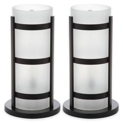 Safavieh Minter Hurricane Table Lamp in Black